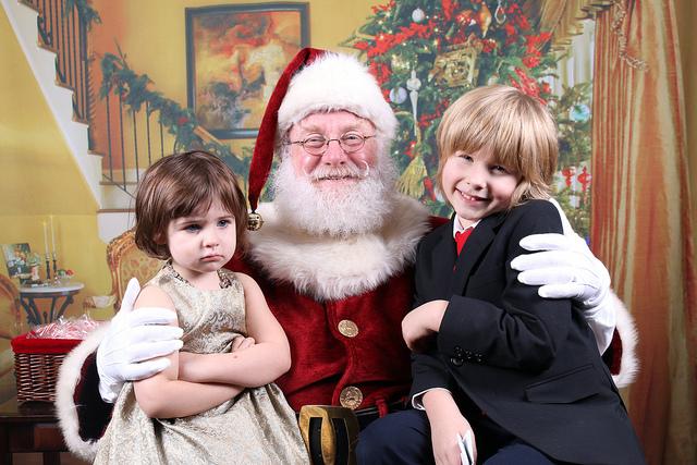 Santa is coming.