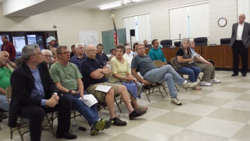 Caledonia residents question WisPark project