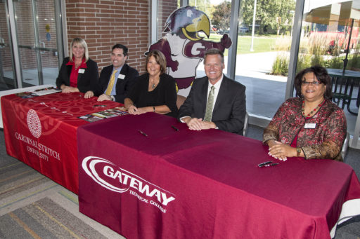 Gateway Technical College and Cardinal Stritch sign deal