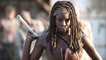 Michonne (Danai Gurira) - The Walking Dead - Season 3, Episode 5 - Photo Credit: Gene Page/AMC