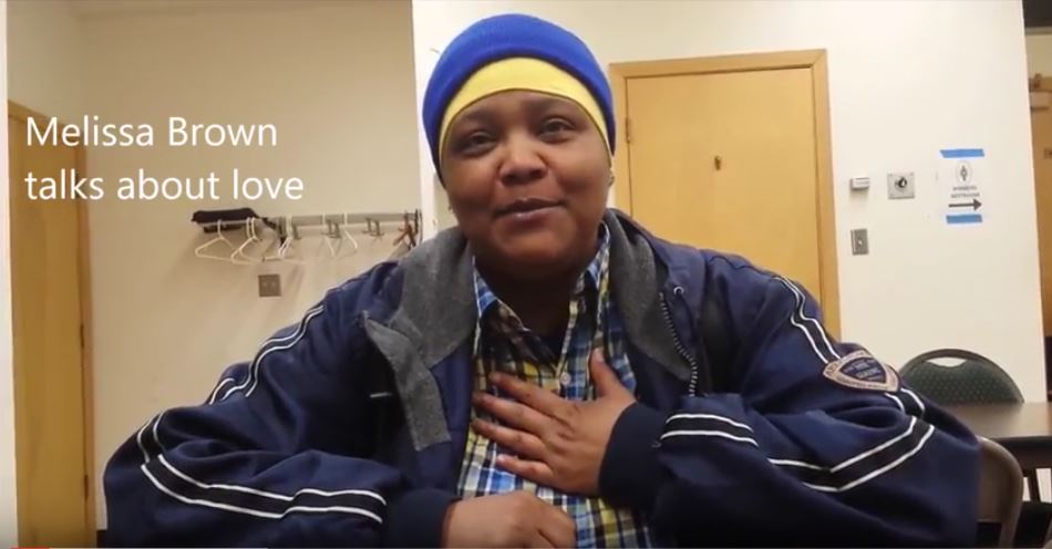 Melissa Brown Talks about love