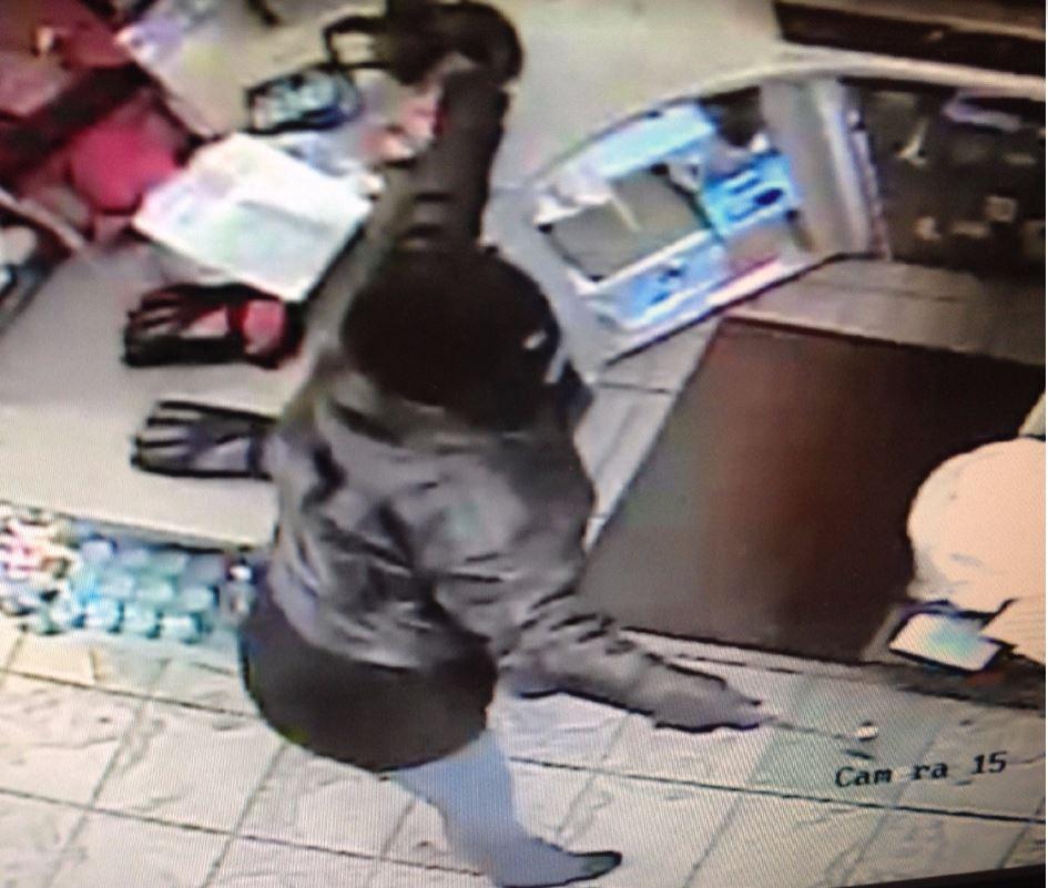 Kansasville Robbery Suspect BP Gas station