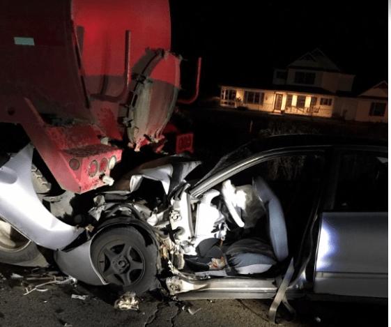 Yorkville construction zone Crash