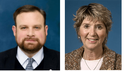 Cory Mason Sandy Weidner mayoral candidates