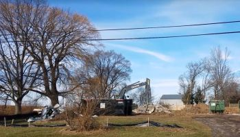We Energies knocks down homes
