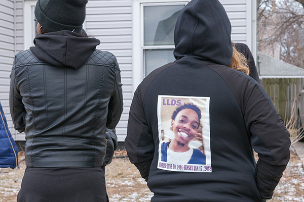 Racine residents protest Donte Shannon shooting