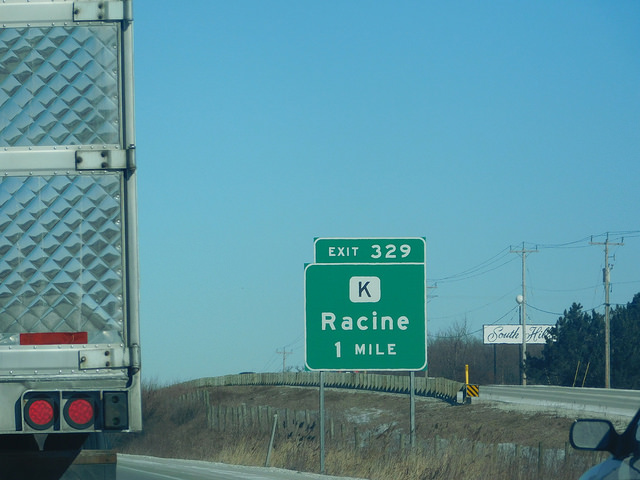 Interstate 94 Racine County Sheriff's Department
