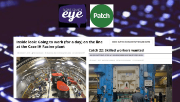 Racinen County Eye and Patch announce content sharing agreement