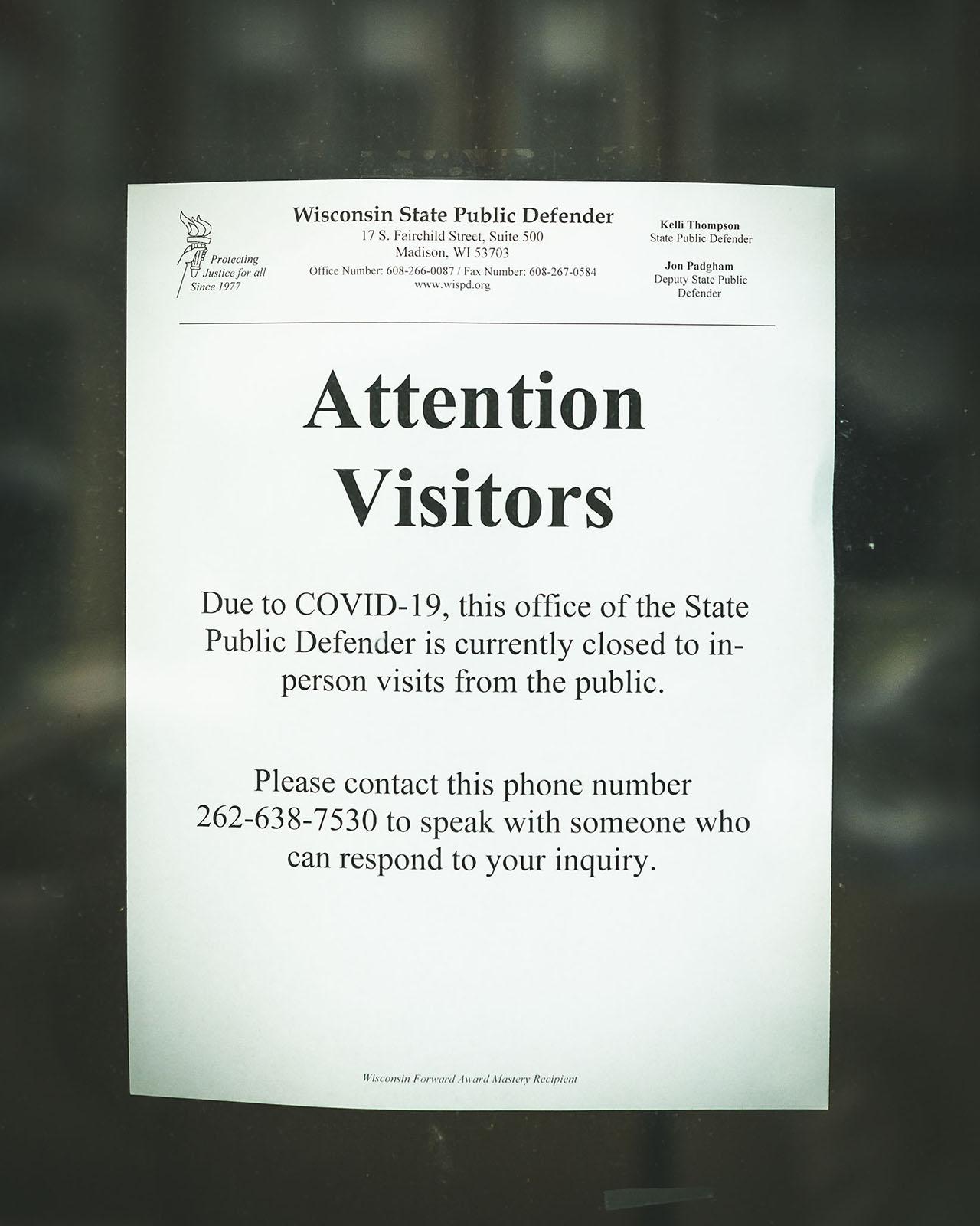Public Defender's Office, Racine, Wisconsin
