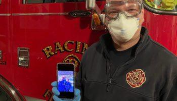 Face-covering ordinance, face mask, Racine, Wisconsin