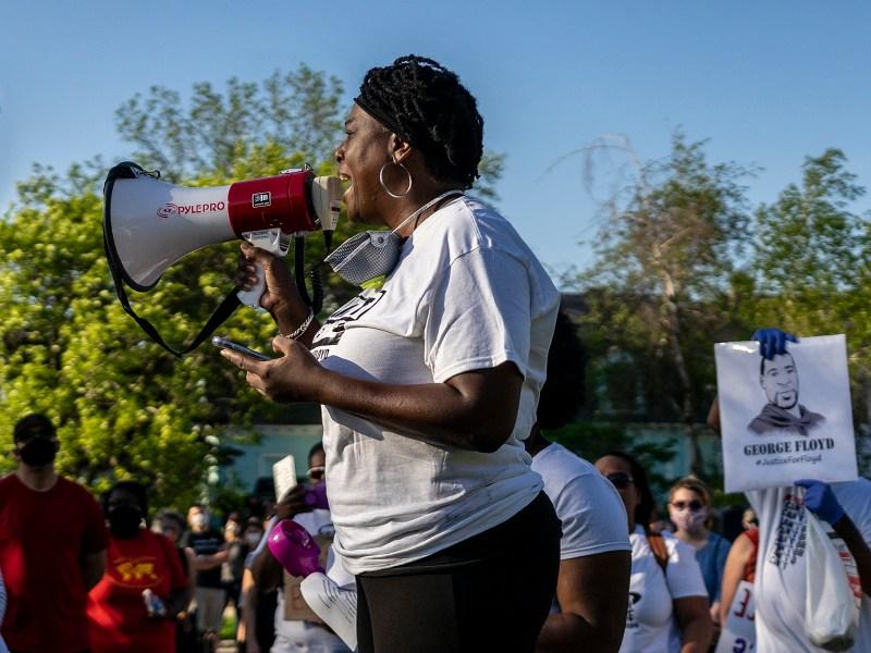 Racine, Wisconsin, George Floyd, Protest