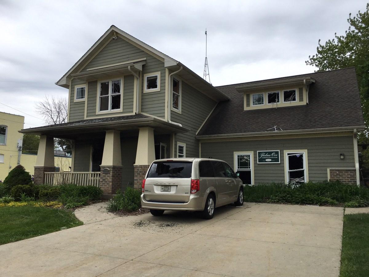 COP House, Racine, Wisconsin, riot