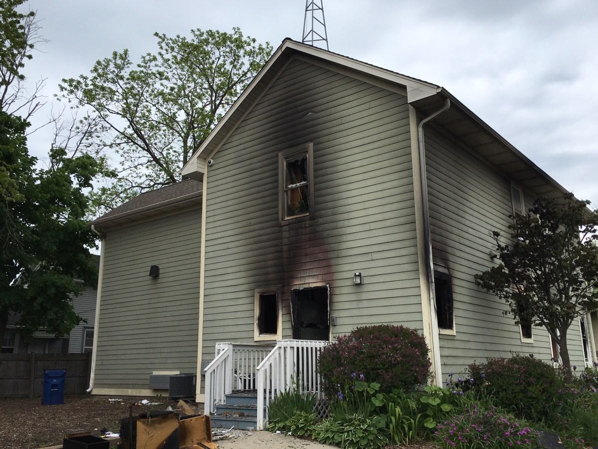 COP House, George Floyd, Racine, Wisconsin
