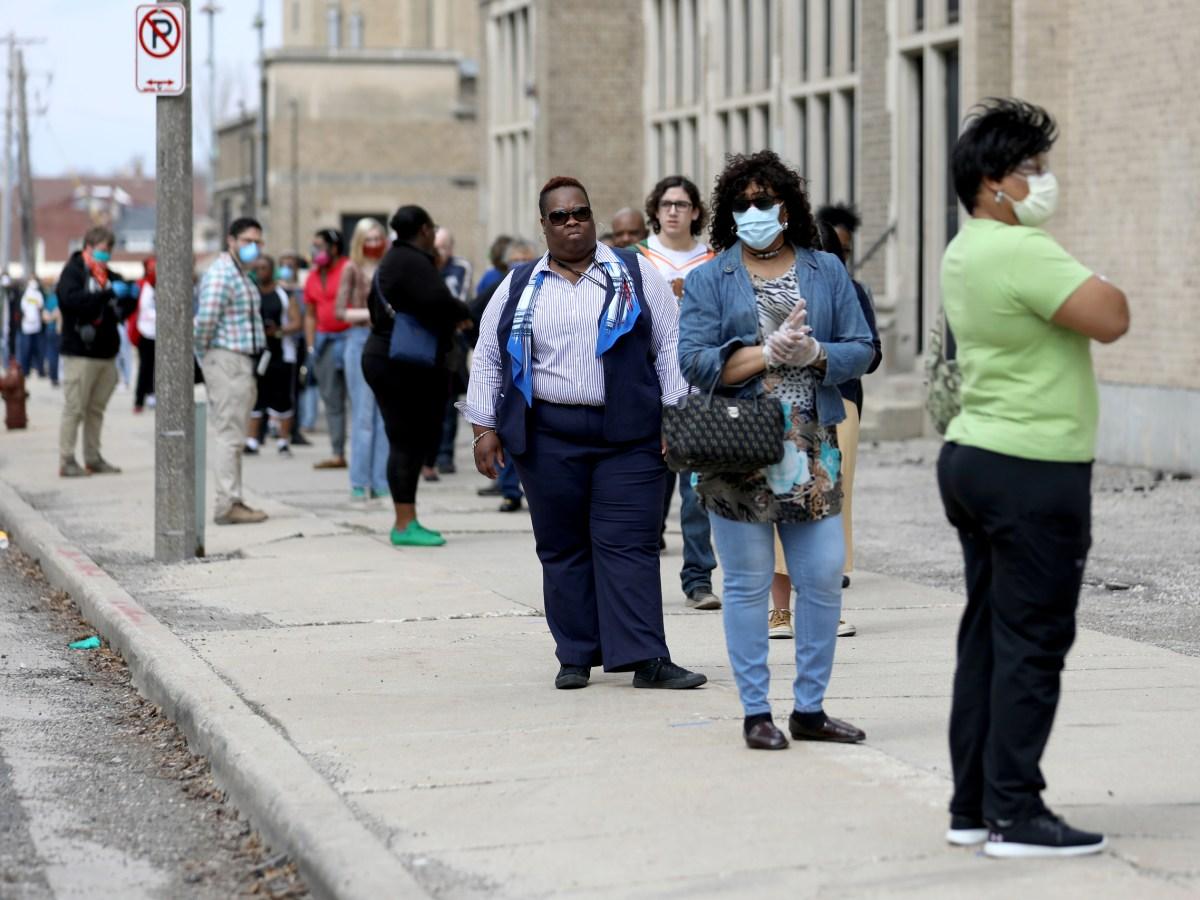Wisconsin Safe Voting Plan, Safe Voting, Racine, Wisconsin