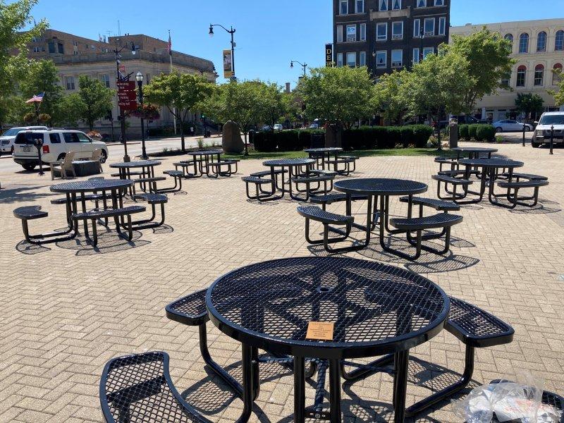downtown racine tables
