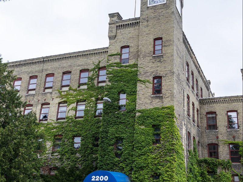 historic horlick malted milk building