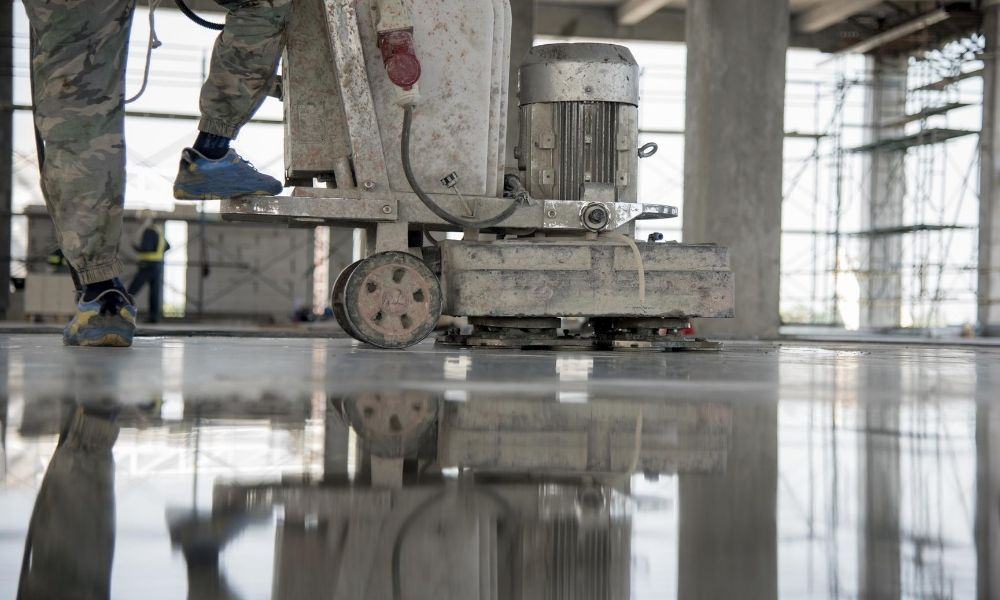 Why Polished Concrete is Ideal for a Manufacturing Plant