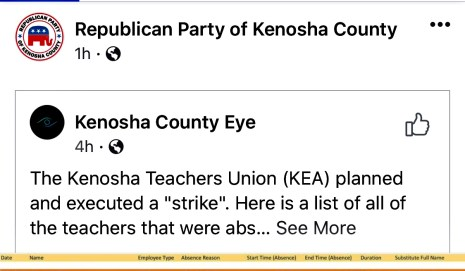 kenosha unified school district teachers