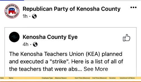kenosha unified school districtteachers