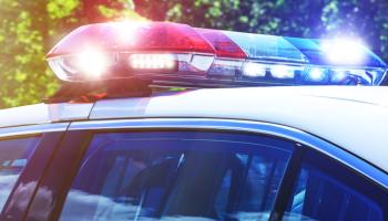 Car Crash, Racine, Wisconsin, Water Street and park Avenue