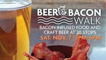 beer and bacon walk downtown racine corporation