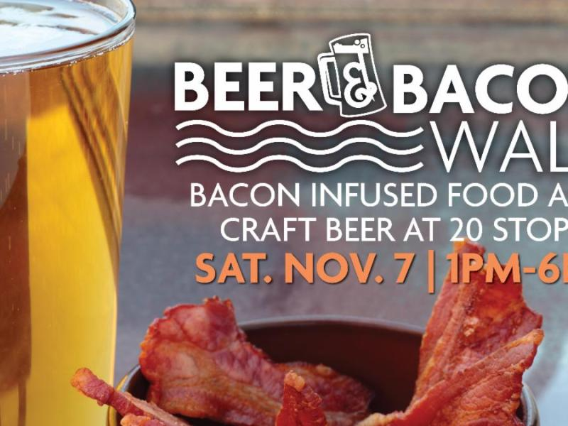 beer and bacon walk downtown racine corporation