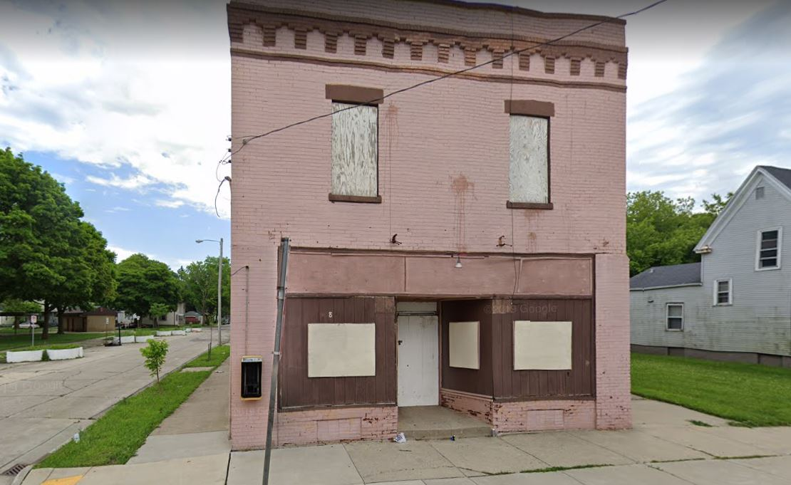 1801 Mead St., fire, Racine, Wisconsin