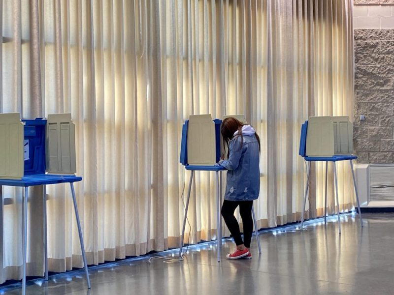 Festival Hall voting site