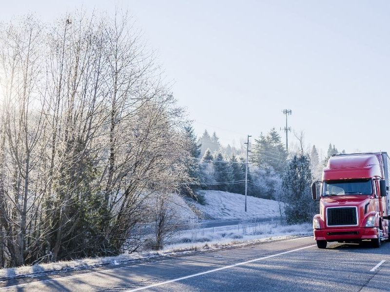 What You Need To Bring on a Winter Trucking Route
