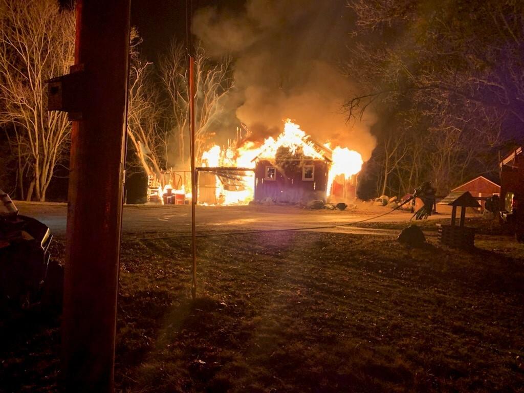 Yorkville fire