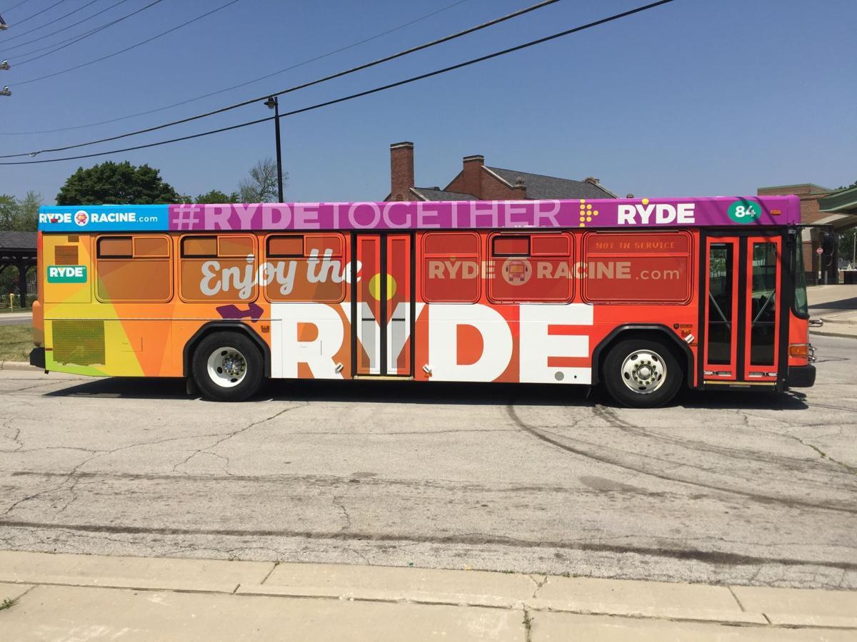 City bus ride Racine RYDE
