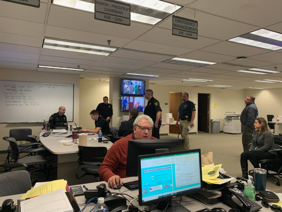 Racine County Emergency Operations Center