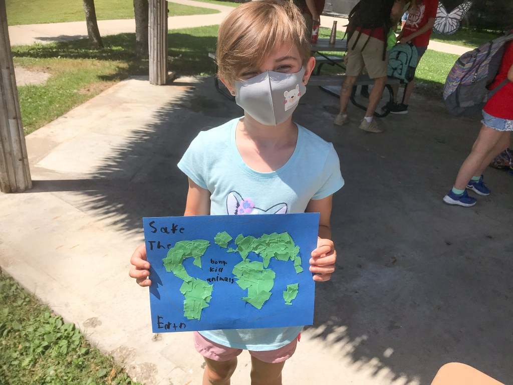 racine zoo party for the planet earth day