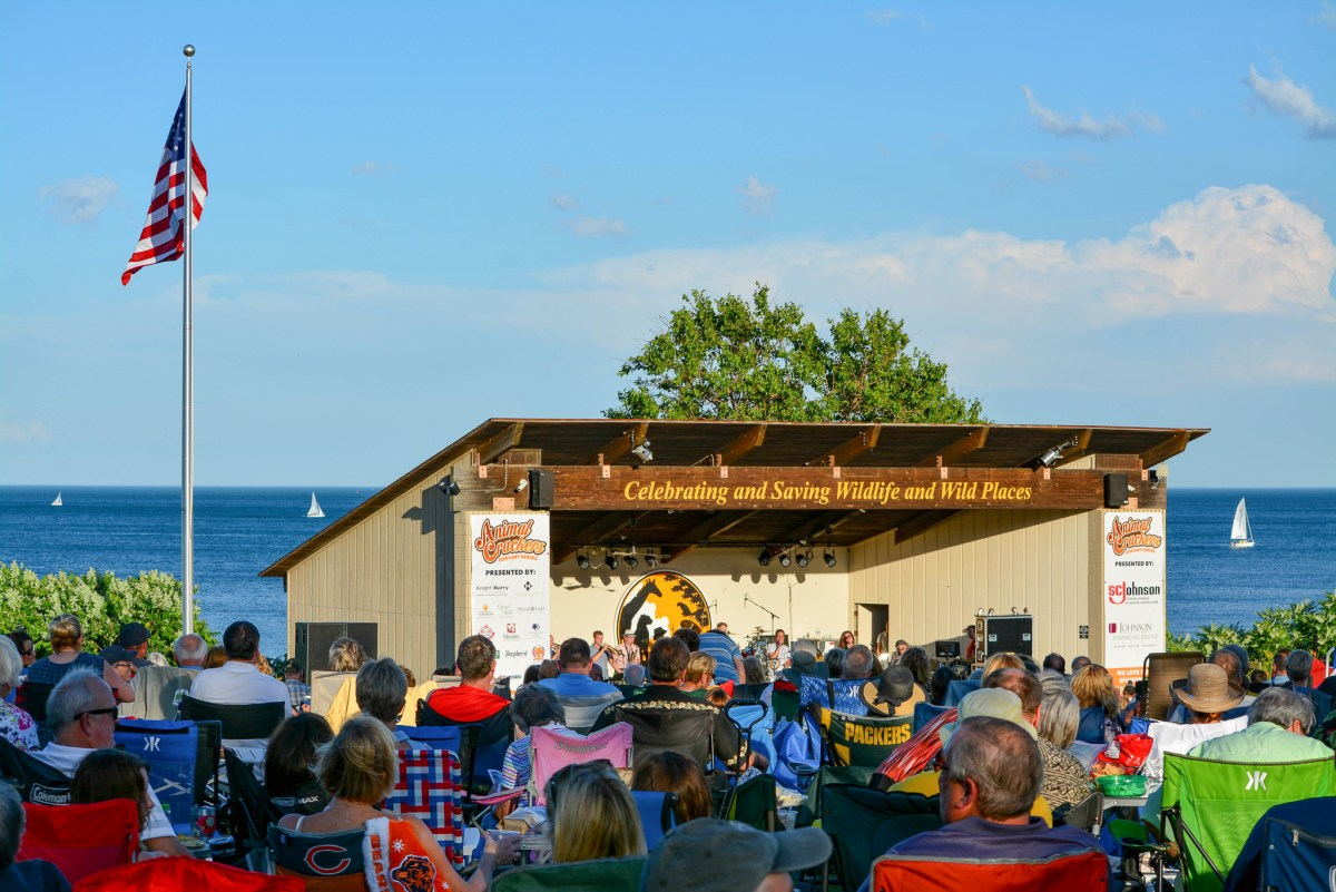 Racine Zoo Concert stage