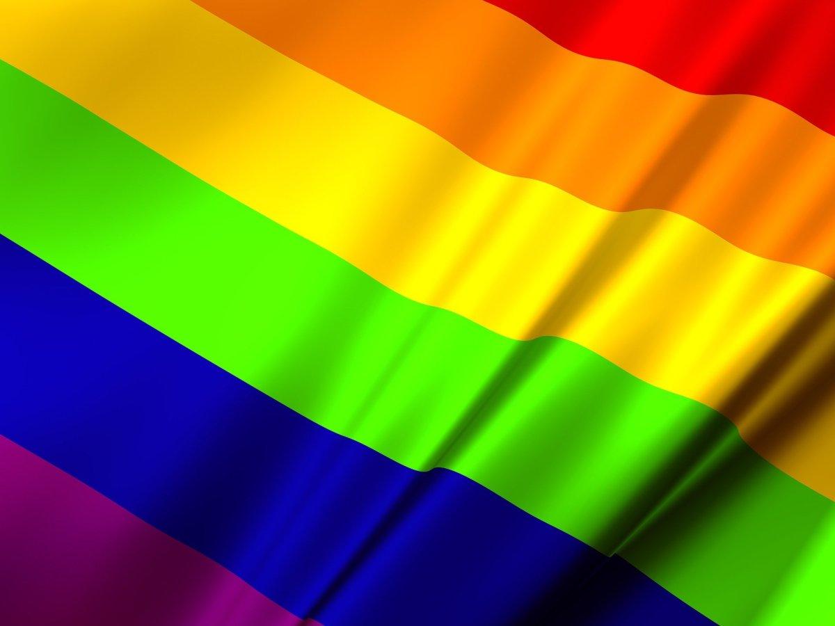 Pride Month Rainbow Flag