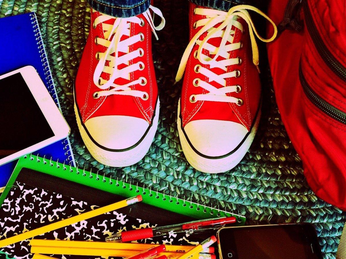 shoes school
