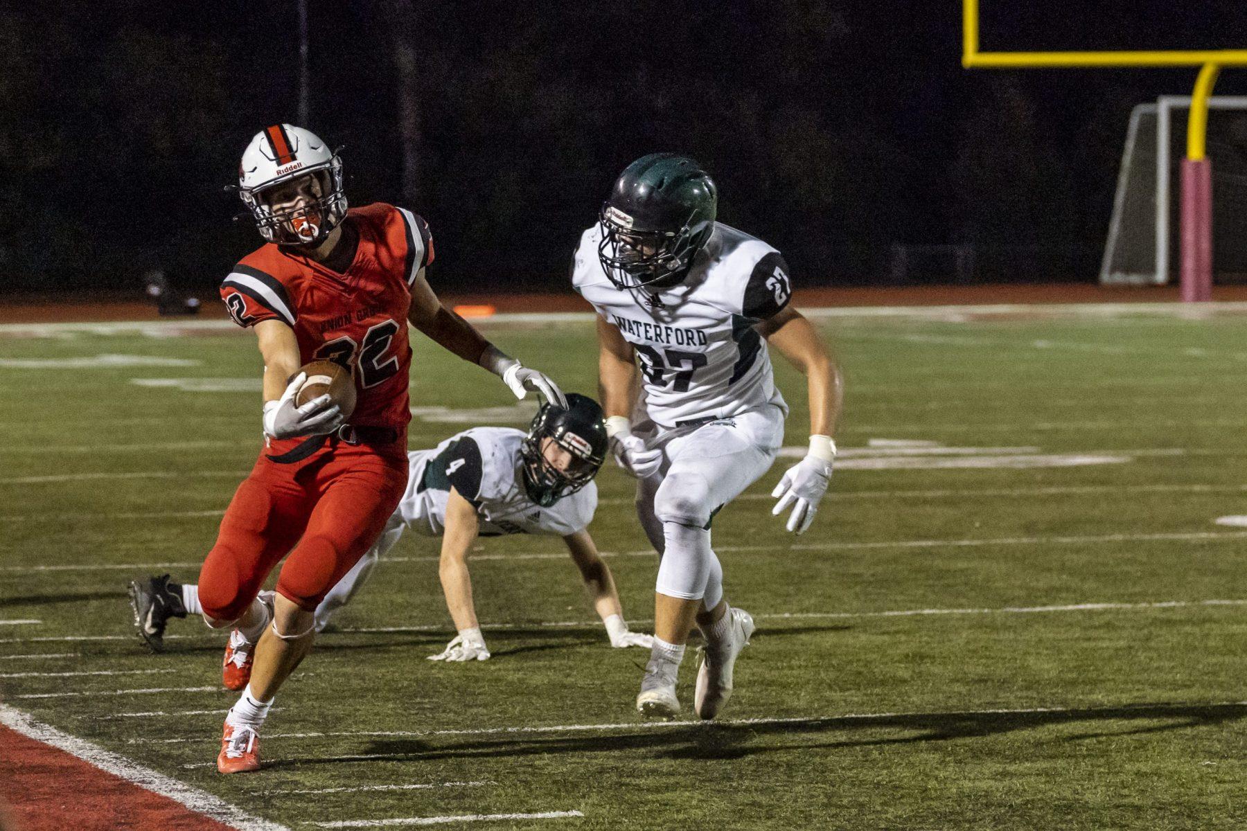 High school football, Union grove High school, Waterford High school