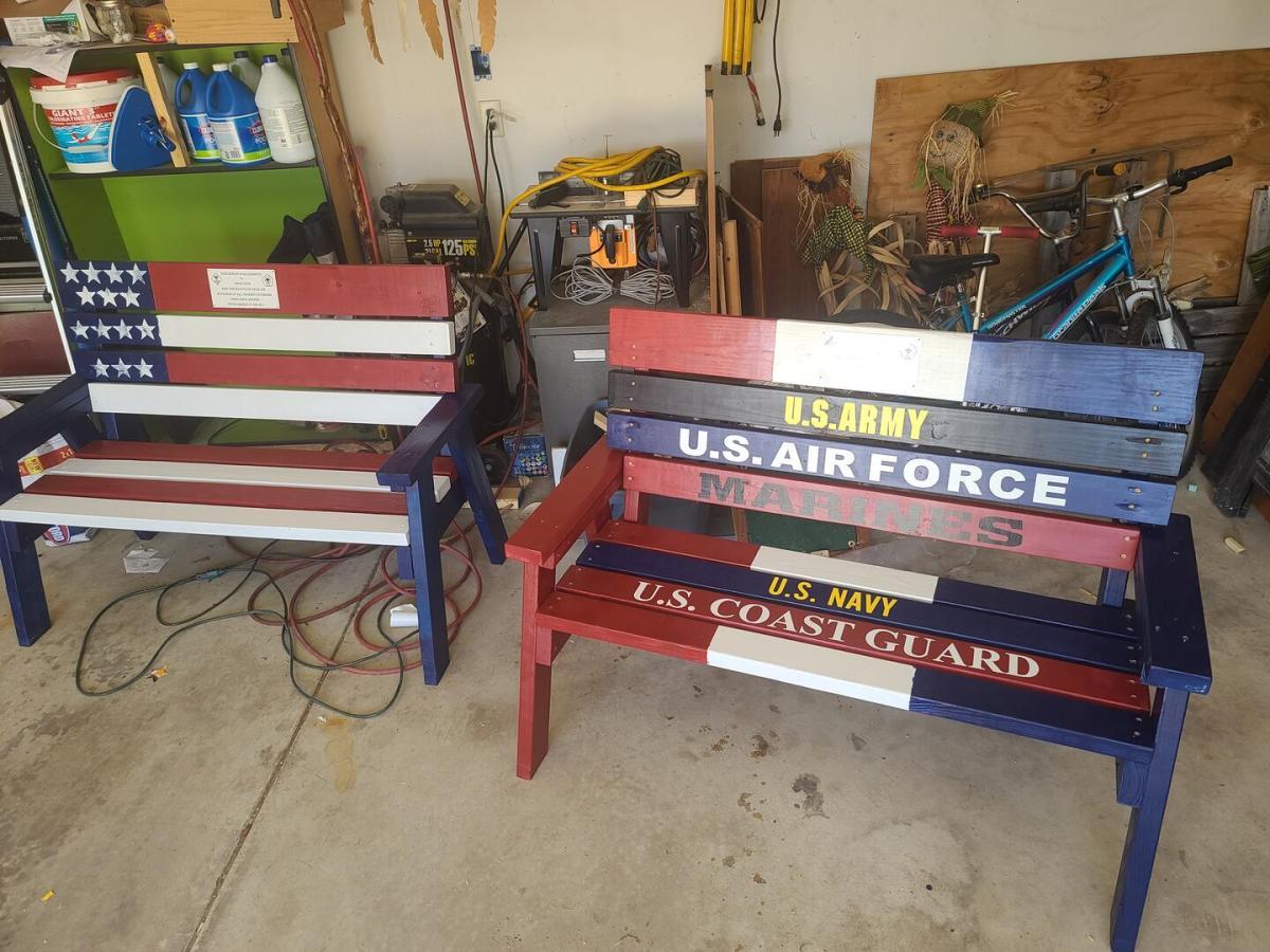 Veterans Benches