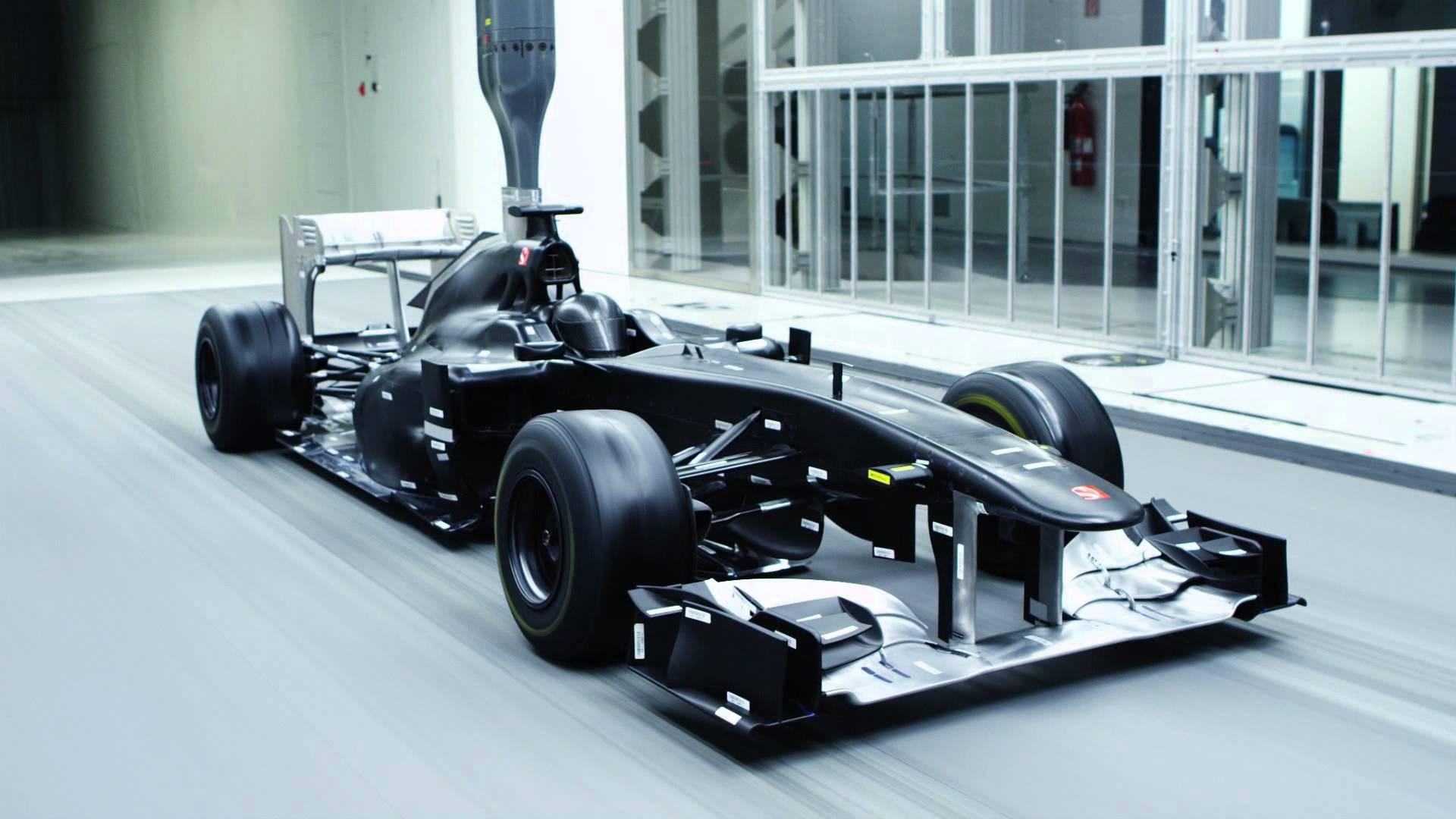 hight resolution of race car aerodynamics