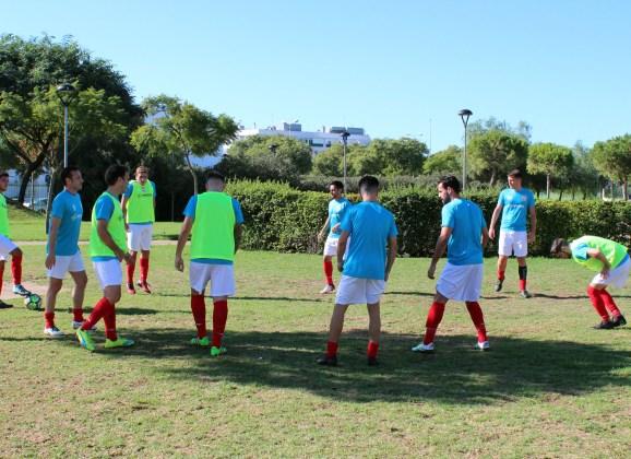 El Racing Club Portuense ya prepara el derbi del próximo domingo