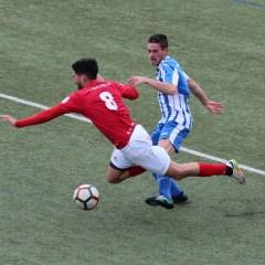 Las imágenes del duelo entre la UD Bornense y Racing Club Portuense