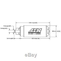AEM Electronics 320lph E100 And M100 Compatible High Flow