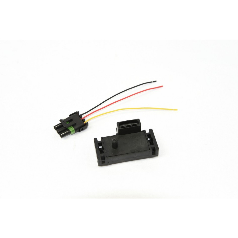 medium resolution of gm 3 bar map sensor with pigtail holley aem fast bigstuff replacement three