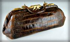 Bly's satchel.