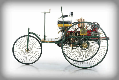 Benz Motorwagen, 1895.
