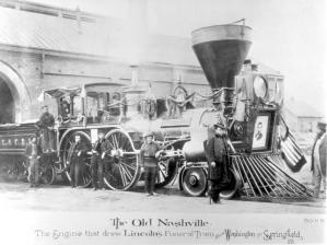 Lincoln's Funeral Train, April 1865.