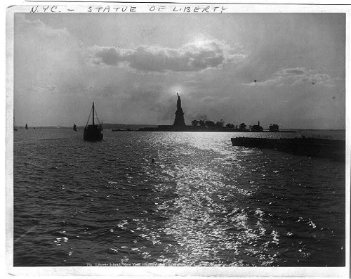 Nellie Bly's View of the Statue of Liberty, 1890.
