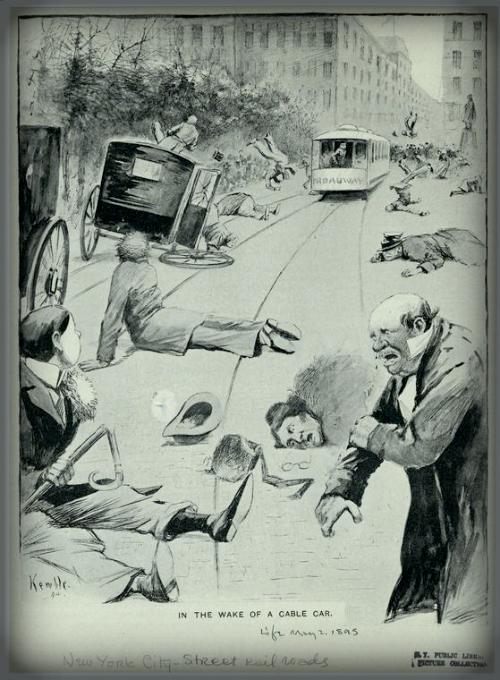 Life Magazine Illustration, 1894.