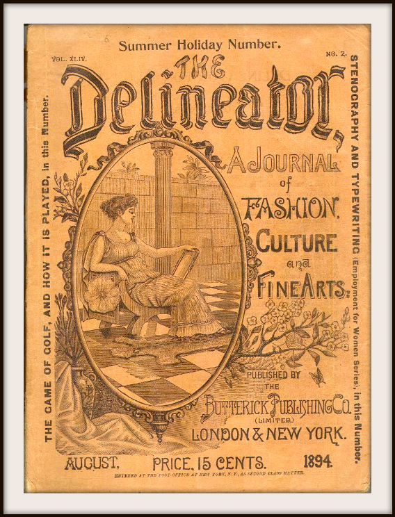 The Delineator Magazine, August 1894.