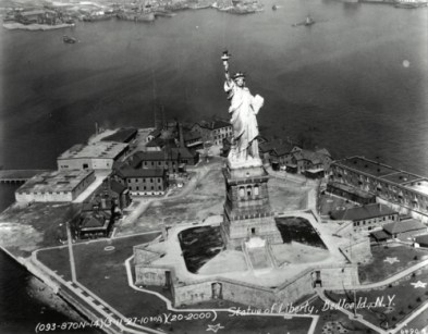 Statue of Liberty, 1927.